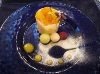 デザートは杏のシブースト