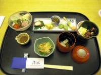 大島桜御膳の壱の膳