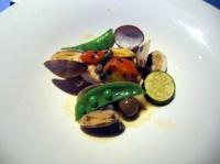 鮮魚とアサリと野菜のオーブン焼き