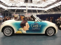コルテオ仕様のダイハツの車
