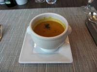 栗カボチャのスープ