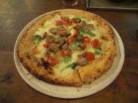 サルシッチャとブロッコリーのピッツァ