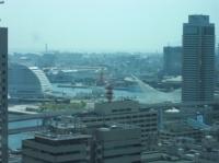 神戸市庁舎から見た海側の眺め