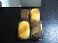 カシミアチーズケーキはチョコとプレーンの2種類