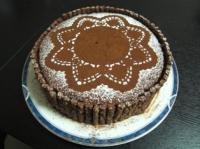 チョコ&チョコレートケーキ
