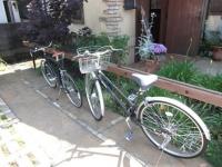2台並ぶ自転車