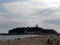 江ノ島の海辺