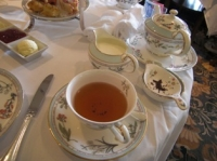 紅茶はホテルオリジナルブレンド