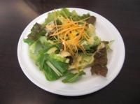 ランチのミニサラダ