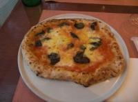 私の作ったピッツァ