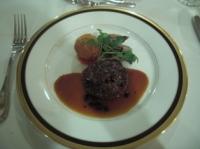 肉料理 牛ヒレのポワレ
