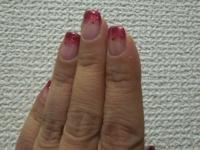 クリスマスバージョンの爪