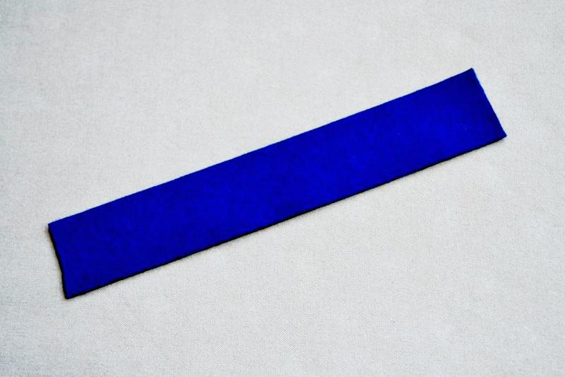 コンジーディエン(羊毛-ブルー)広げたイメージ