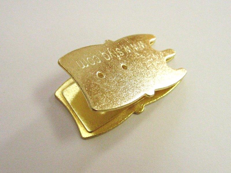 「こうもり型・高級弱音器(ゴールド)」