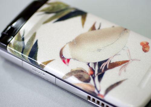 デコシール携帯