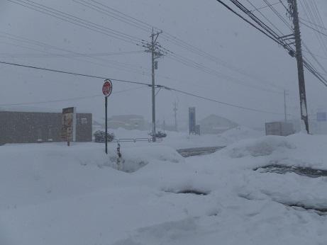 積雪130cm