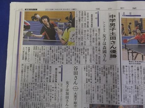 5/8 福井新聞