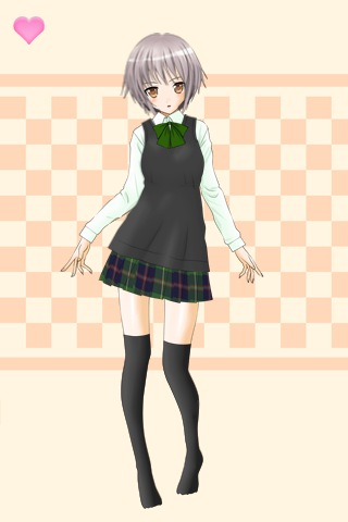 Dress Up School Girl