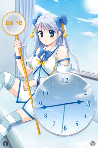 時守永遠の天気時計