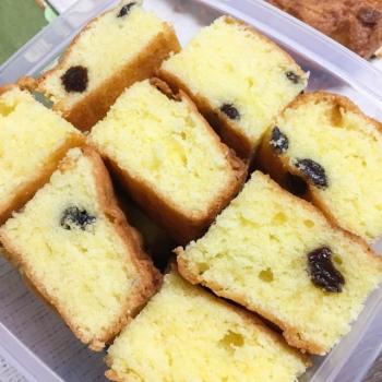 ラムレーズン入りバターケーキ