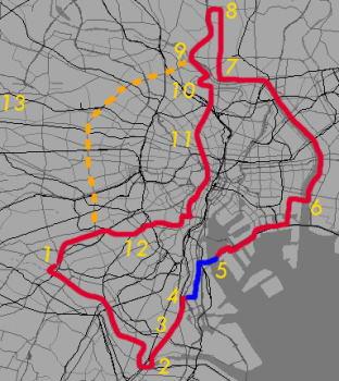 自転車の 東京 自転車 : 東京自転車生活:都内の走り方