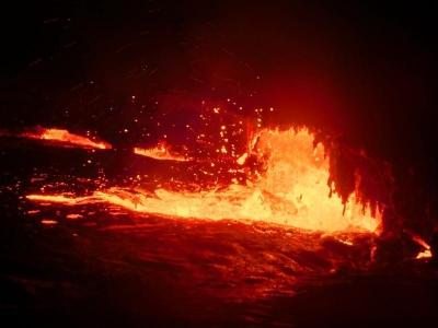 エルタ・アレ火山(ダナキル砂漠)