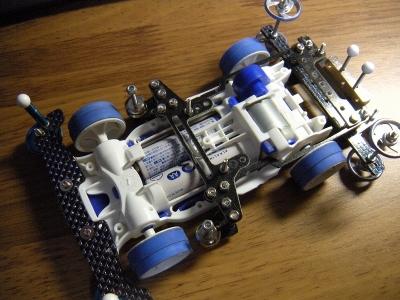 ヒクオ 作り方 ミニ四駆 MAシャーシでボディ提灯(ヒクオ?)を組んでみたのでその手順をメモ。