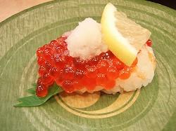 回転寿司・元禄寿司 スジコ