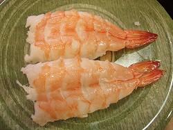 回転寿司・元禄寿司 えび