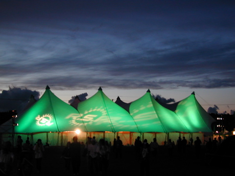 RSR2004 earth tent