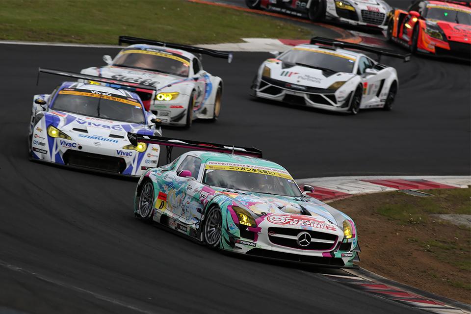 SUPER GT 2015 第2戦 富士
