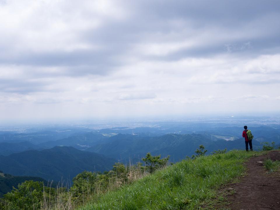 棒ノ嶺・棒ノ折山 山頂