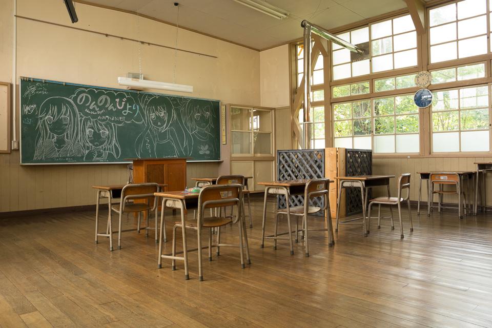 小川町立小川小学校 下里分校 のんのんびより教室