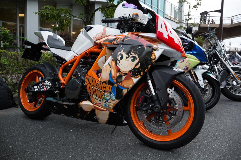 モジャ公バイク