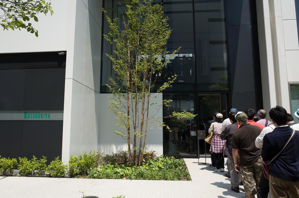 コトブキヤ立川本店 2階入口