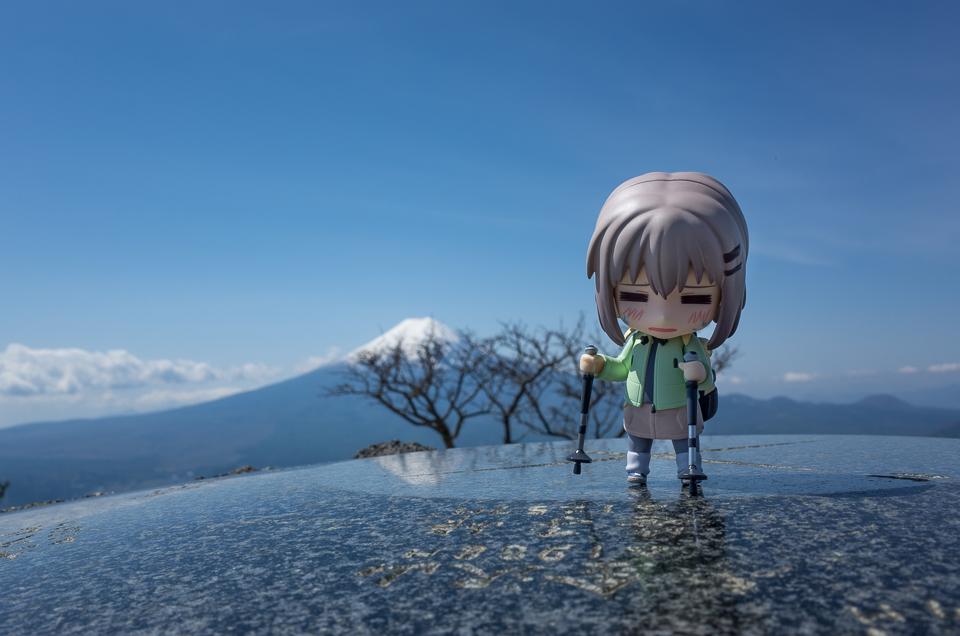 あおいちゃんと富士山