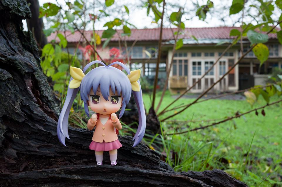 雨の日の下里分校