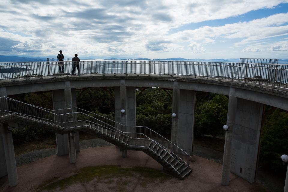 十文字山公園展望台