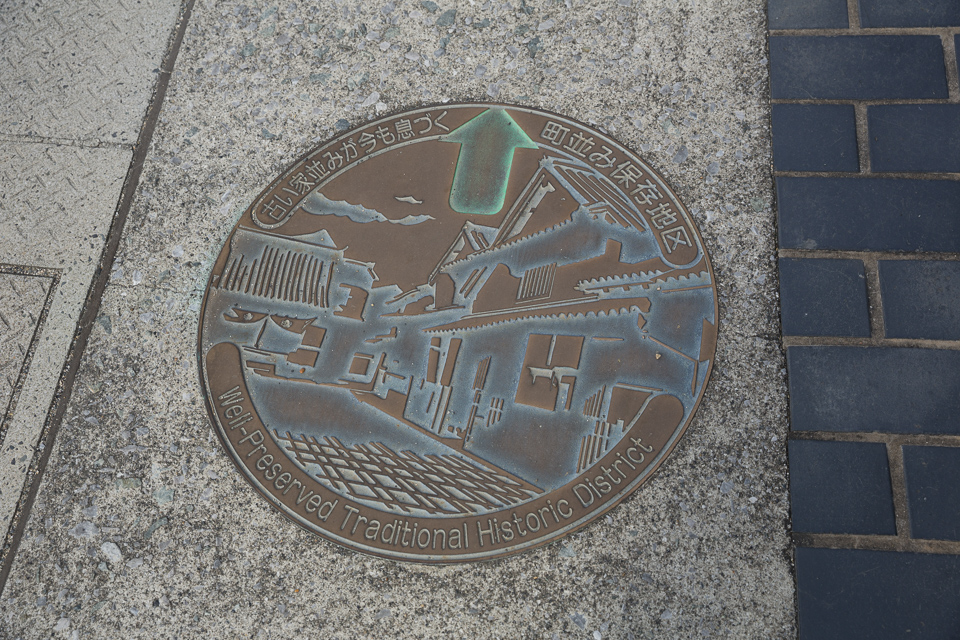 竹原のマンホール