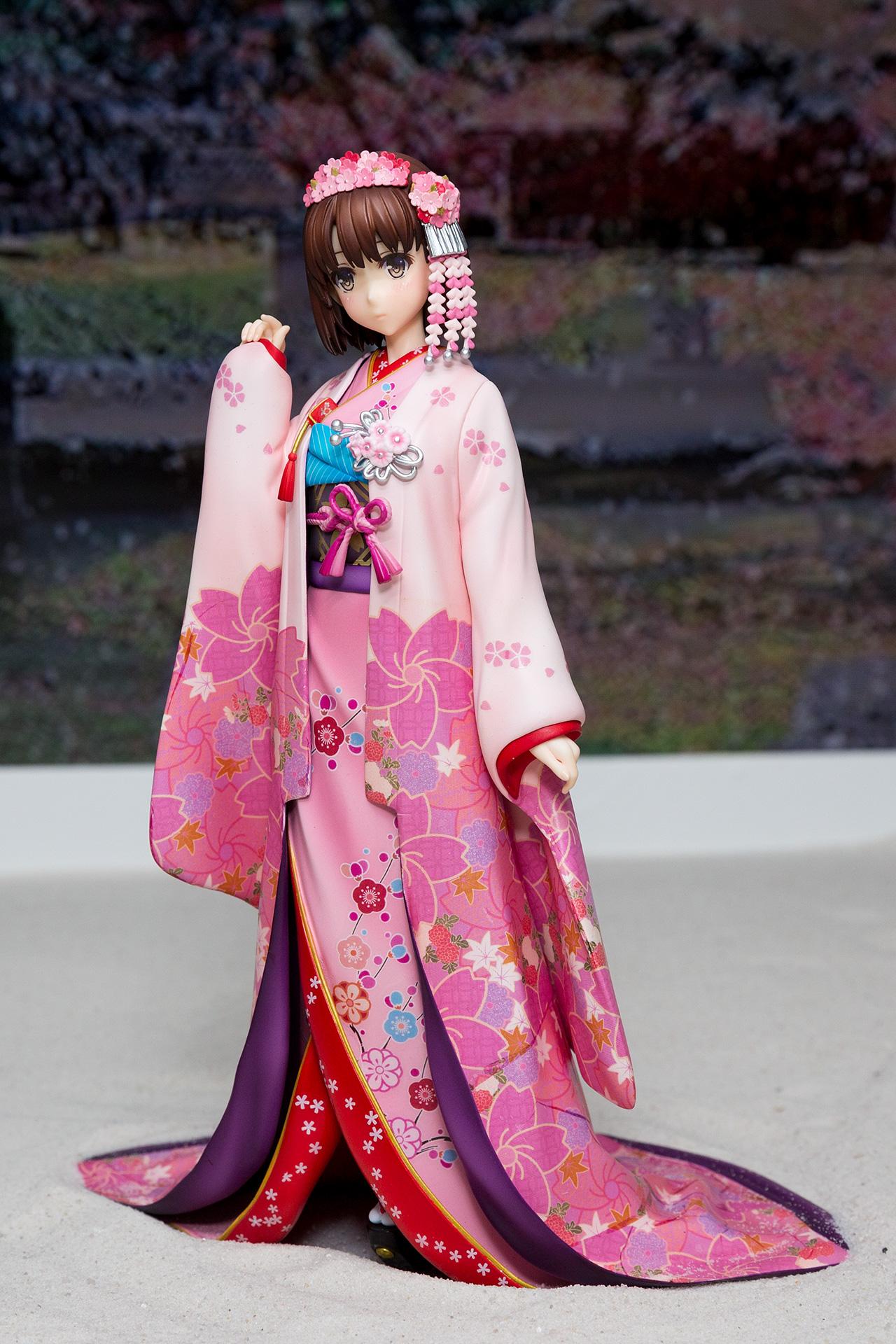 加藤恵 和服ver.