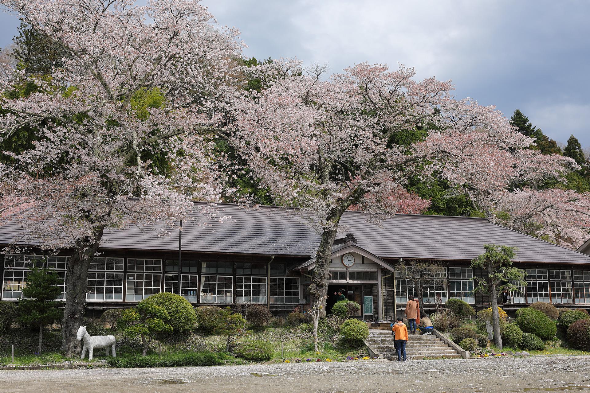 ガルパン 旧上岡小学校
