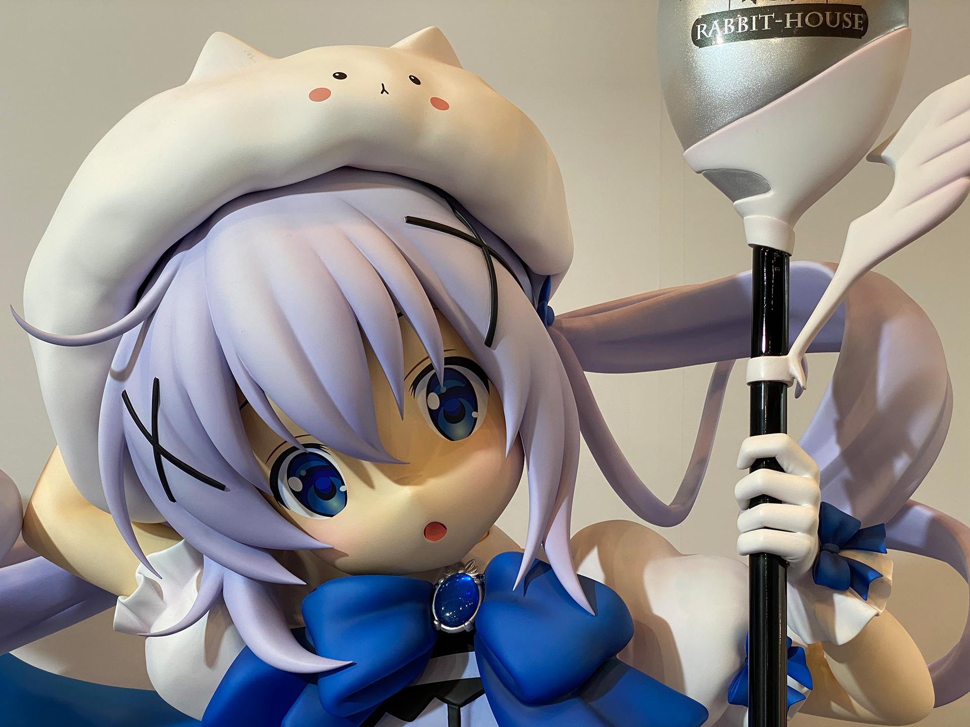 等身大魔法少女チノフィギュア02