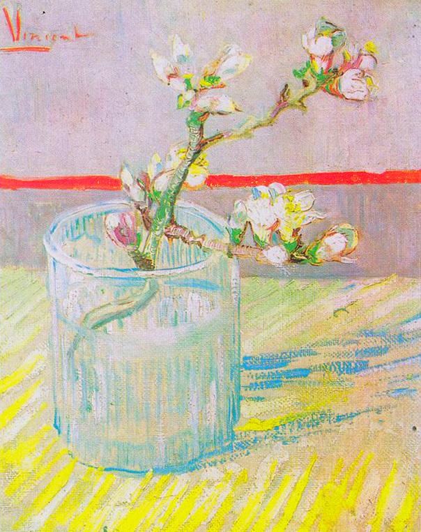 Flowering_almond_tree_branch_in_a_glass_by_Vincent_van_Gogh