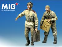 MP35-012 ロシア軍 給油するタンカー達/2体