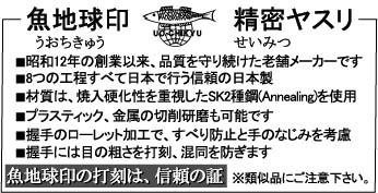 魚地球精密ヤスリ