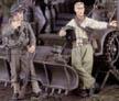 2493 1:35 米 戦車兵と歩兵/2体