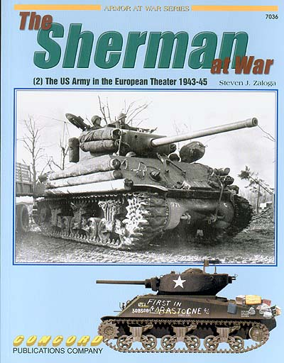 7036 The Sherman at War