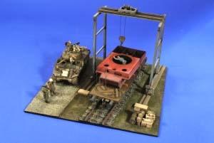VP2716 独 戦車工場 ガントリークレーン