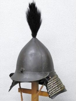 鉄錆地韃靼形兜