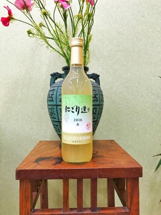 岩の原ワイン にごり造り 白